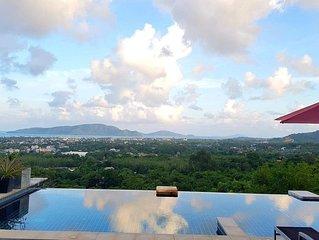 Sunrise Villa Overlooking Chalong Bay & the Islands