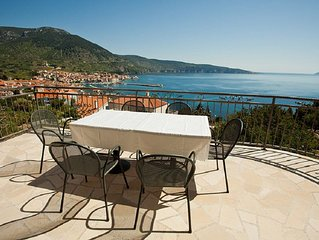 Apartment Mistral with best view of Komiza and the bay