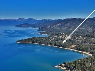 Lake Tahoe Paradise Condo in Gated Community  on Marla Bay!