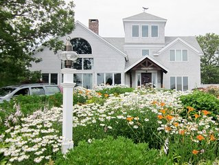 Elegant Oceanview Home On Triton Way in New Seabury With Heated  Pool & beach
