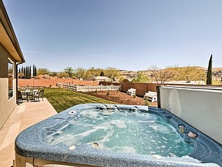 La Verkin House w/ Hot Tub - 30 Mins to Zion!