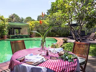Exceptional Private Holidays Retreat with Private Pool/ Spa/ Garden/ Restaurant