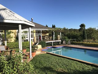 Milla's Vineyard Estate private property centrally located in the Hunter Valley