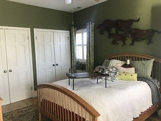 Beautiful home in historic neighborhood (Green Room)