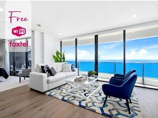⭐� Luxurious Level 35 Ocean Suite Panoramic Views �⭐