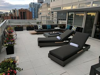 ULTRA LUXURY 3 Bed, DTWN Entertainment  Area Oasis with Private 1000 ft. Terrace