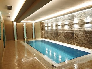 Leylak Suite is the most luxurious hotel apartment in Taksim Square district.