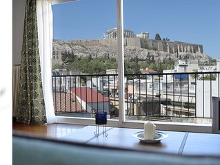 Acropolis Place, Unique View from the living room!