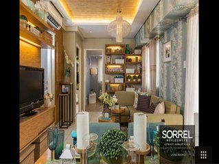 Sorrel Residences 2 BR Model unit   , 62 sq.mtr Across SM Sta.Mesa / Centerpoint