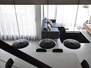 Split Level Loft-Style Apartment in Inner City Sydney