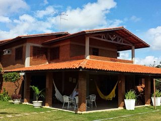 Aconchegante casa de praia no Porto das Dunas, Aquiraz, Ceará, Brasil