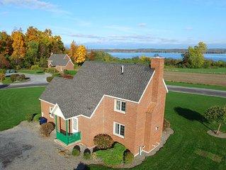 Beautiful Brick Built Cottage in the Finger Lakes Overlooking Seneca Lake