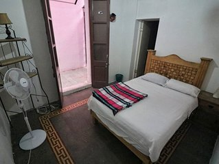 Room with excellent location and private bathroom.