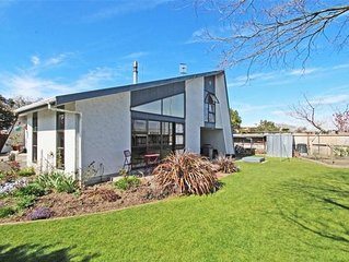 A peaceful home away from home. Three bedroom house with large sunny garden.