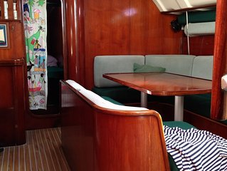 Sailing Yatch, day trip / houseboat  in a first class marina St Lucia