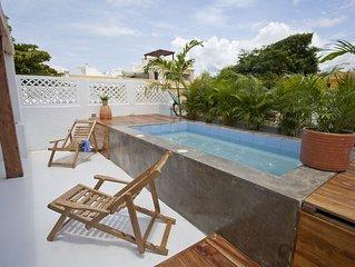 Piscina privada 3 hbs centro Cartagena