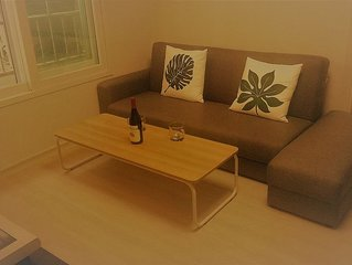 Busan - New And Modern 1 Bedroom Apartment For Rental Near Gwangalli Beach