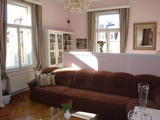 Large Apartment In The Art Nouveau Style. Enjoy The Atmosphere Of 19th Century