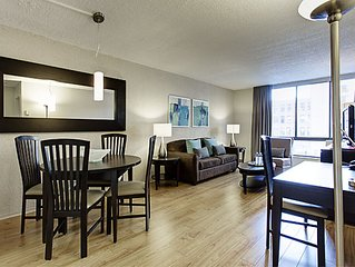 One bedroom  Furnished Apartments - in Montreal