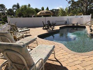 Spring Lake Pool home, close to Sebring Int'l Raceway, Spring Lake Golf Resort