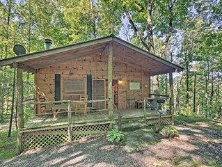 NEW! Pisgah Forest 'The Oak' Cabin w/Deck by Creek