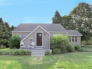 Seek Peace and Quiet in Chic Remodeled Cottage w/ Walk to Dog Friendly Beach