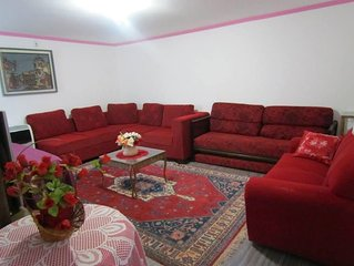 Casa confortável, 6 quartos c/Ar condicionado e WI-FI