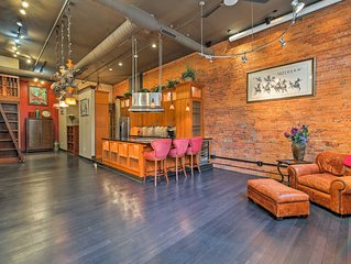 Chic Loft-Style Condo in the Heart of Indianapolis