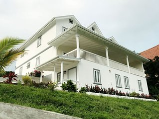 Villa ' The Haven', on prime Location, overlooking St Lucia's Marigot Bay