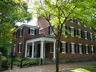 Historic Brick Federal Period Mansion on Fabled Chestnut Street, Salem