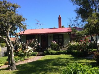 The Albion Cottage in beautiful colourful garden