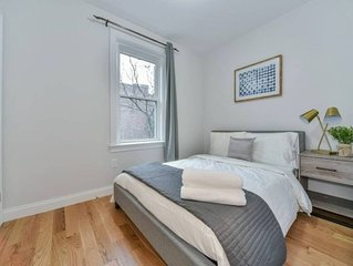 Luxury 5bed/2bath: Steps to Central Park and Express Train!
