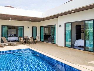Elegant 2br Boutique Pool Villa by Intir