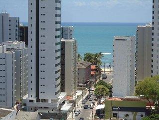 Apartamento em Boa Viagem, mobiliado, confortável, ótima opção pra suas férias