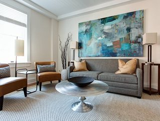Old Met #201 | Renovated historic apartment overlooking Downtown Mall