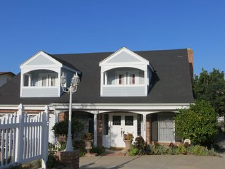 Vineyard View - Southern California  with Cape Cod Comfort - Sleeps 10