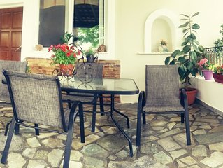 'Petros House'  Sunny and Comfortable  Two Bedroom House with  Big garden.