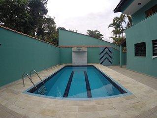 Casa Confortável- Condomínio Tropical *Piscina *Esp Gourmet *15 pessoas