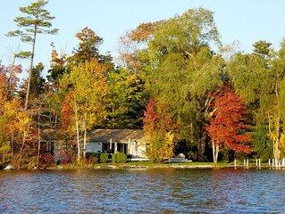 Lenox Lakefront Rental Home