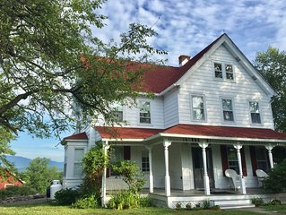 Beautifully Restored Farmhouse with Catskill Mountain Views