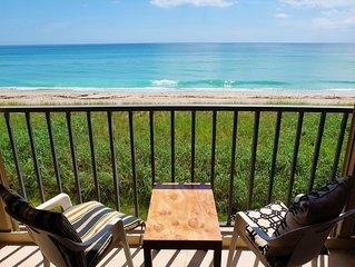 Beachfront 2 BED / 2 BATH Condo Overlooking the Beautiful Atlantic Ocean!