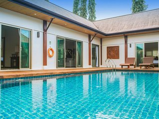 VW6: Oriental Naiharn 3BR Private Pool