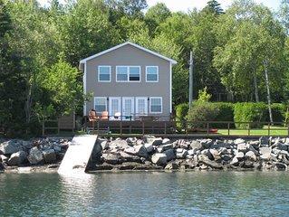 Birch Cove Cottage - Ocean Front Cottage