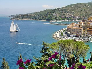 Porto Santo Stefano - Stunning Views, Beautiful Beaches, Walk to Town Center