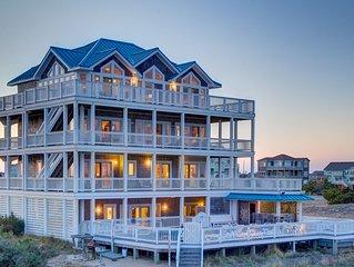 Sea Monkey - Captivating 7 Bedroom Oceanfront Home in Salvo