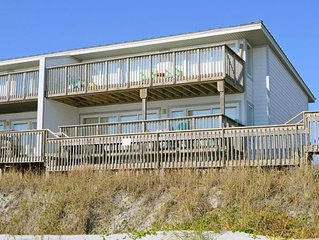 107 Beach Time - 3 Bedroom OCEANFRONT Queen's Grant Condo