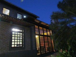 Casa charmosa e aconchegante, com 5 suites na praia de Ponta Negra,
