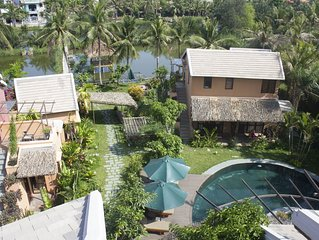 2 Bed room Samma Garden View Bungalow- An Villa Hoi An