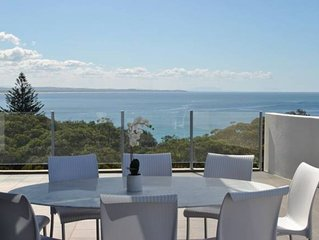 Ocean View Penthouse - 360 deg Stunning Views - North East Aspect