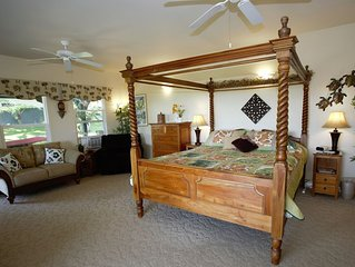 Island Goode's - Hilo Bay Room - Luxury Room - Air Conditioned and a Sea View